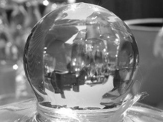 'Crystal Ball' by Jason Langheine, available under a Creative Commons Attribution-ShareAlike 2.0 Generic License at: http://www.flickr.com/people/yorkjason/